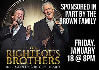The Righteous Brothers: Bill Medley & Bucky Heard