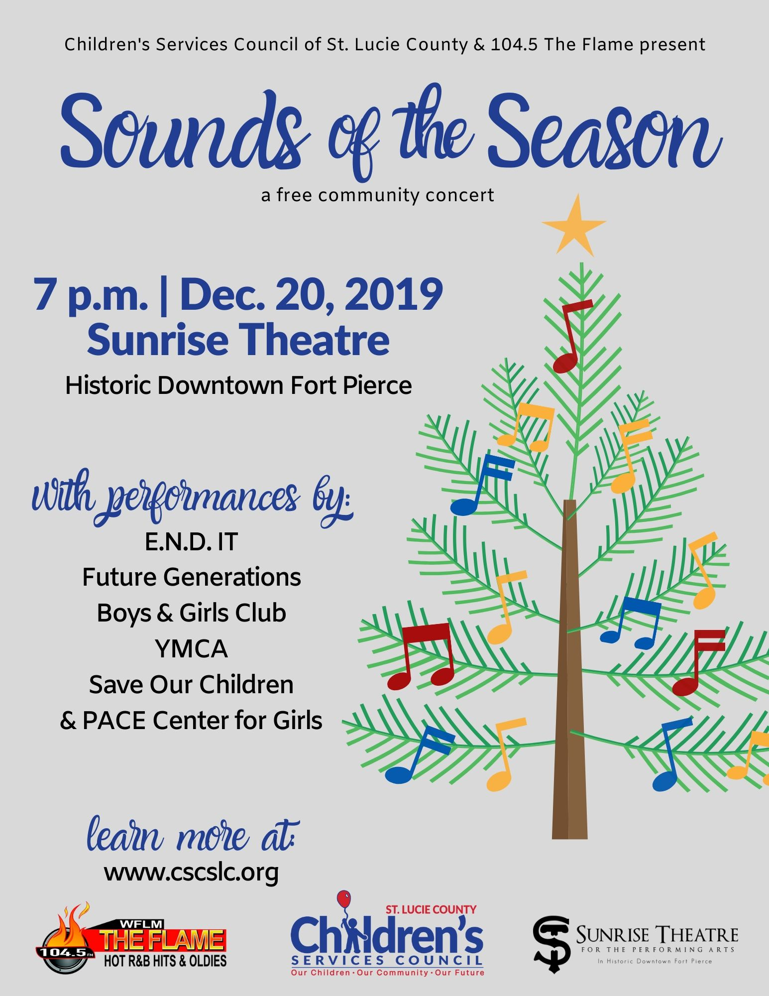 Sounds of the Season- A Free community Concert