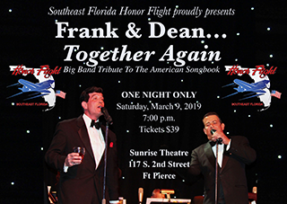 Southeast Florida Honor Flight Presents: Frank & Dean... Together Again