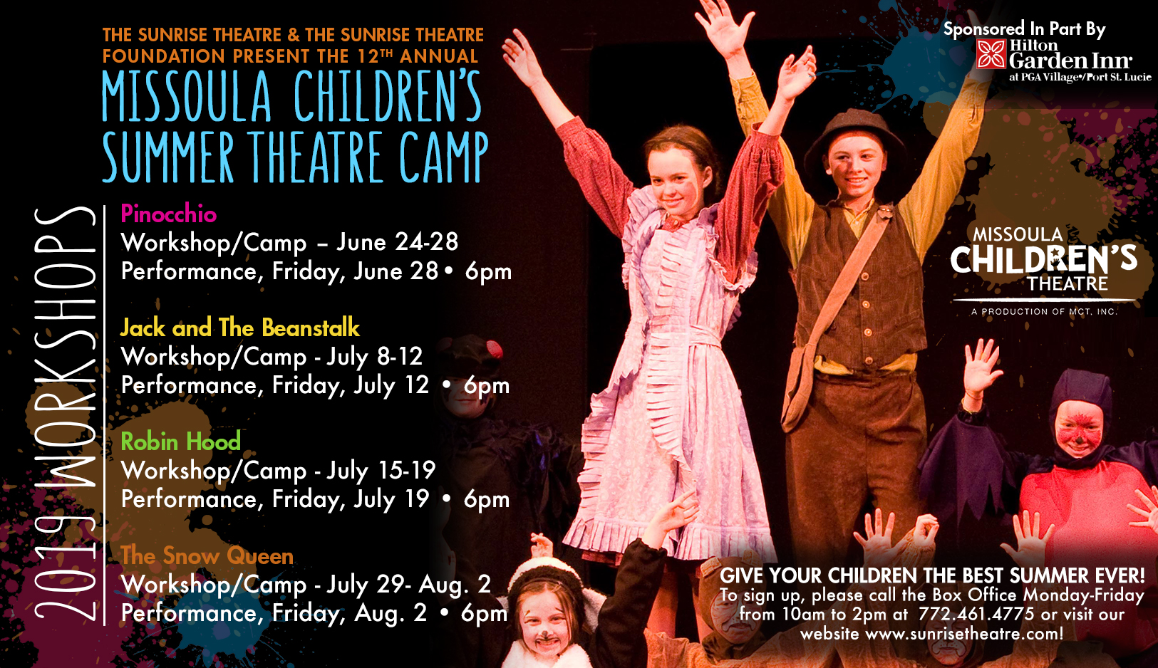 Missoula Children's Theatre Summer Camp sponsored by Humana