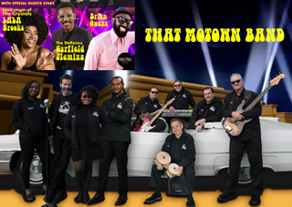 Kyman Entertainment & Preemo Productions Presents: That Motown Band w/ Special Guest LaLa Brooks Valentines Day Special