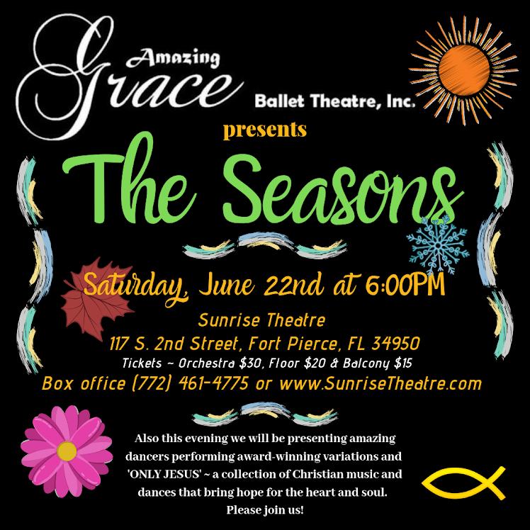 Amazing Grace Ballet Theatre Presents: The Seasons