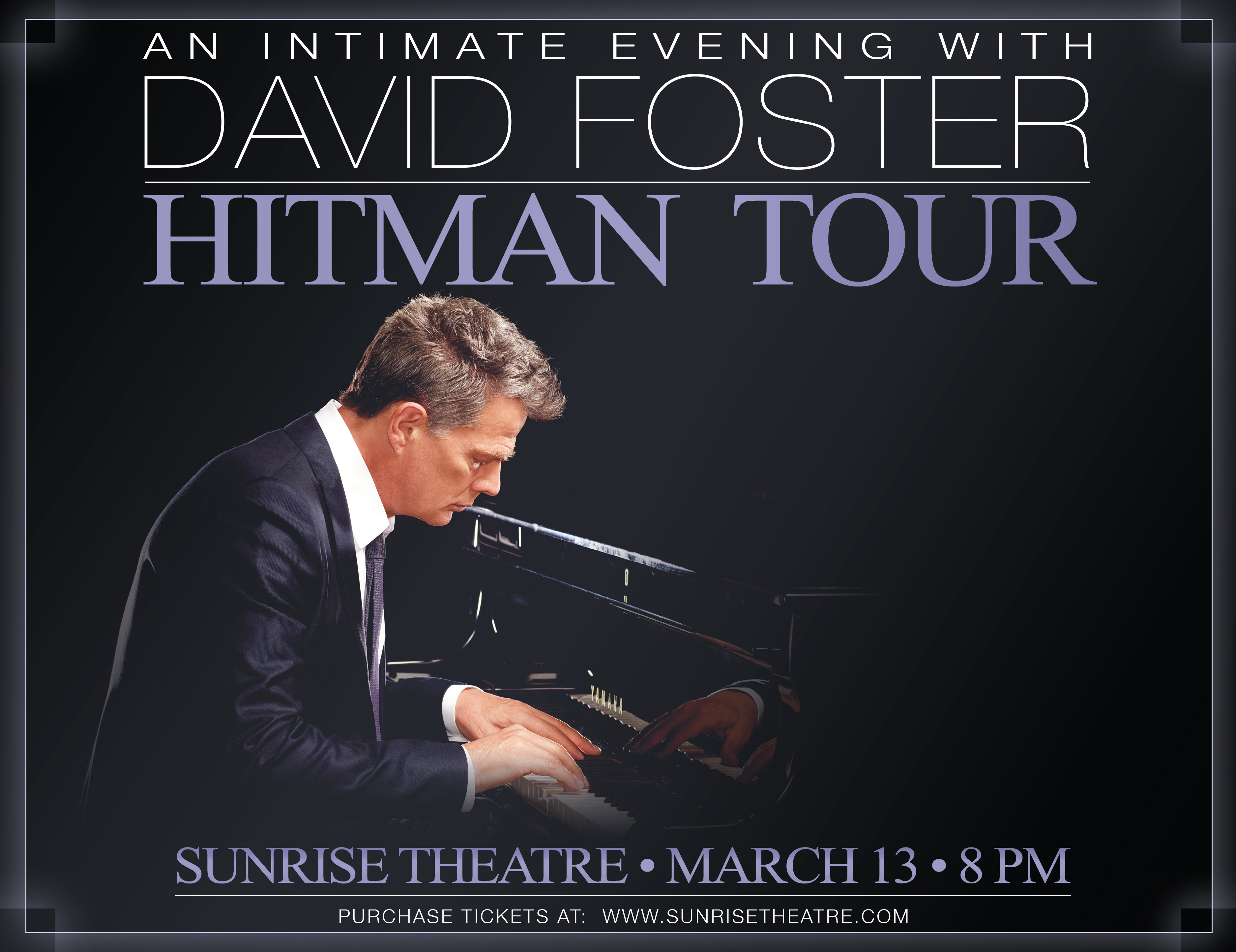 An Intimate Evening With David Foster - Hitman Tour