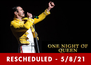 One Night of Queen Performed by Gary Mullen & The Works  RESCHEDULED