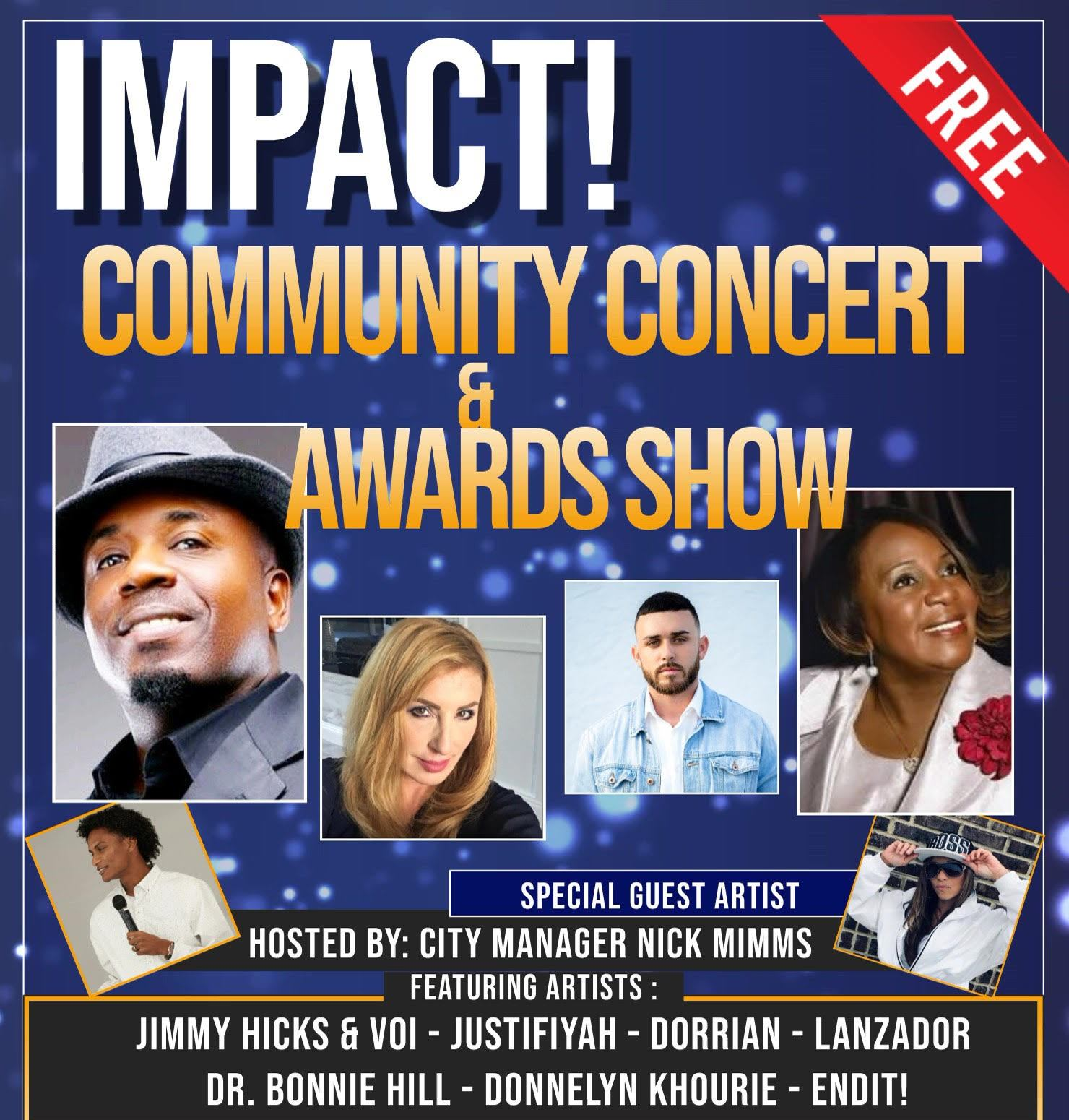 Impact! Community Concert & Awards Show