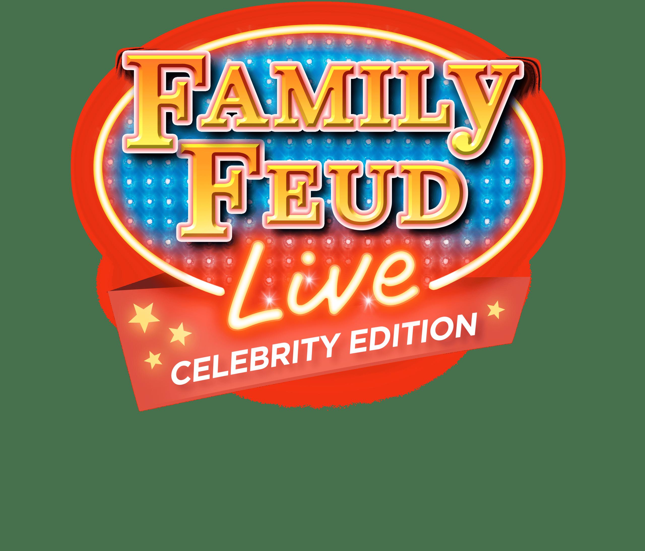 Family Feud Live: Celebrity Edition! Celebrities Pauly Shore, Chris Kattan & Host Rubin Ervin