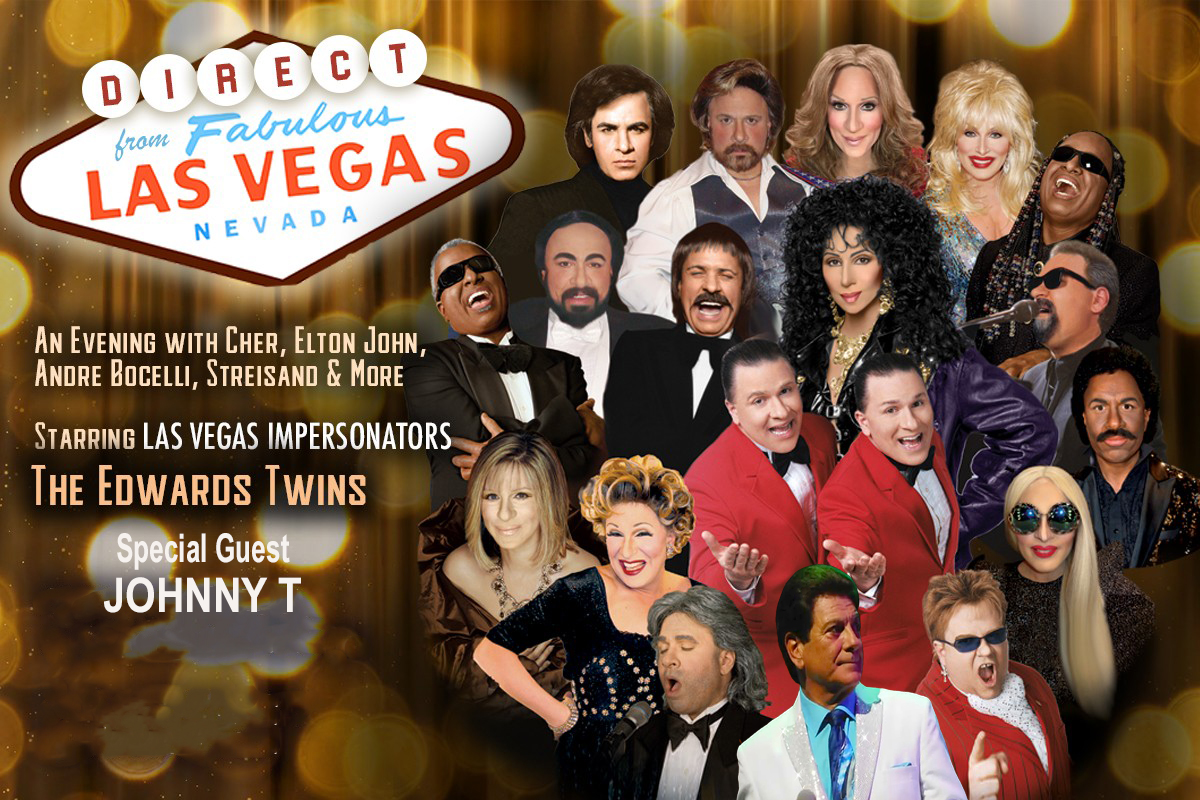 Evening With The Stars - Las Vegas Impersonators The Edwards Twins With Special Guest Johnny T