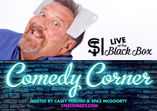 Comedy Corner Presents: John Ferrentino LIVE @ The Black Box
