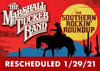 Marshall Tucker Band - Southern Rockin' Roundup RESCHEDULED