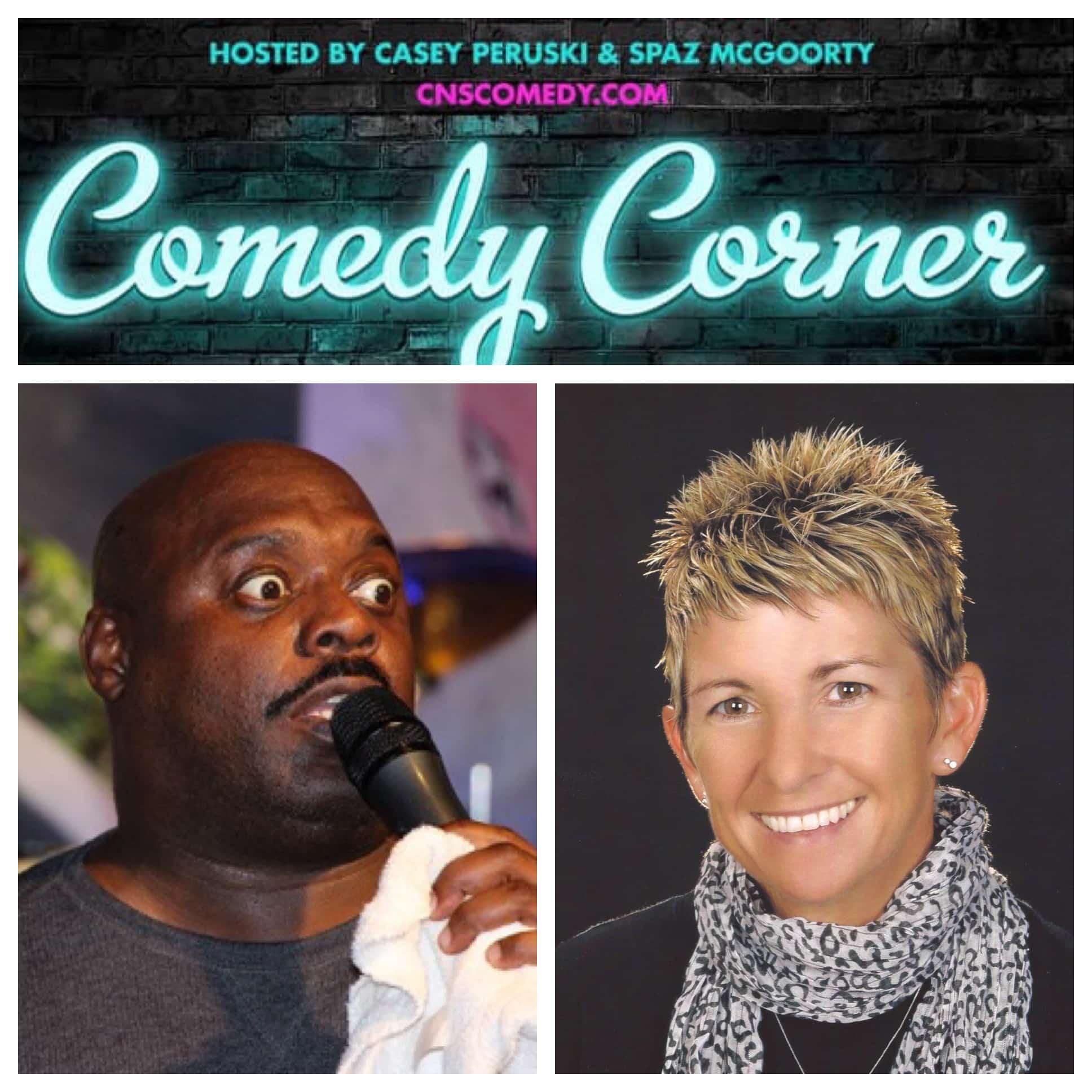 Comedy Corner Presents: Steve Zimmerman & Amy Dingler LIVE @ The Black Box