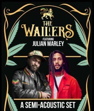 The Wailers Featuring Julian Marley   50% Capacity