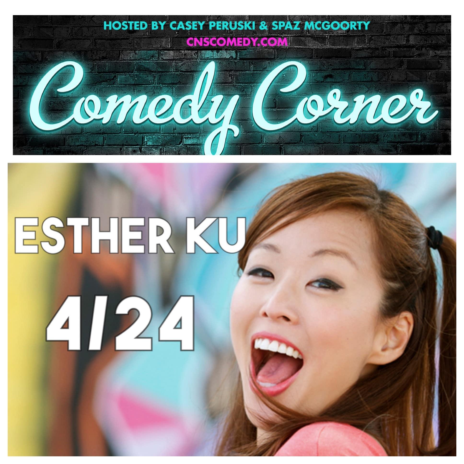 Comedy Corner Presents: Esther Ku LIVE @ The Black Box
