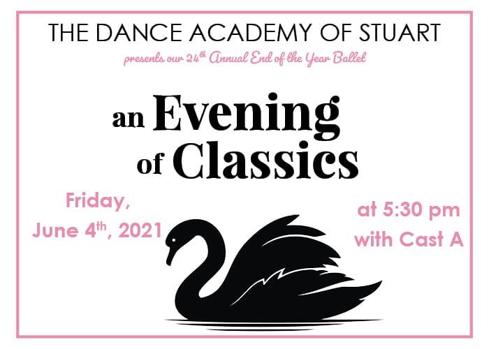 Dance Academy of Stuart Presents An Evening of Classic Ballet
