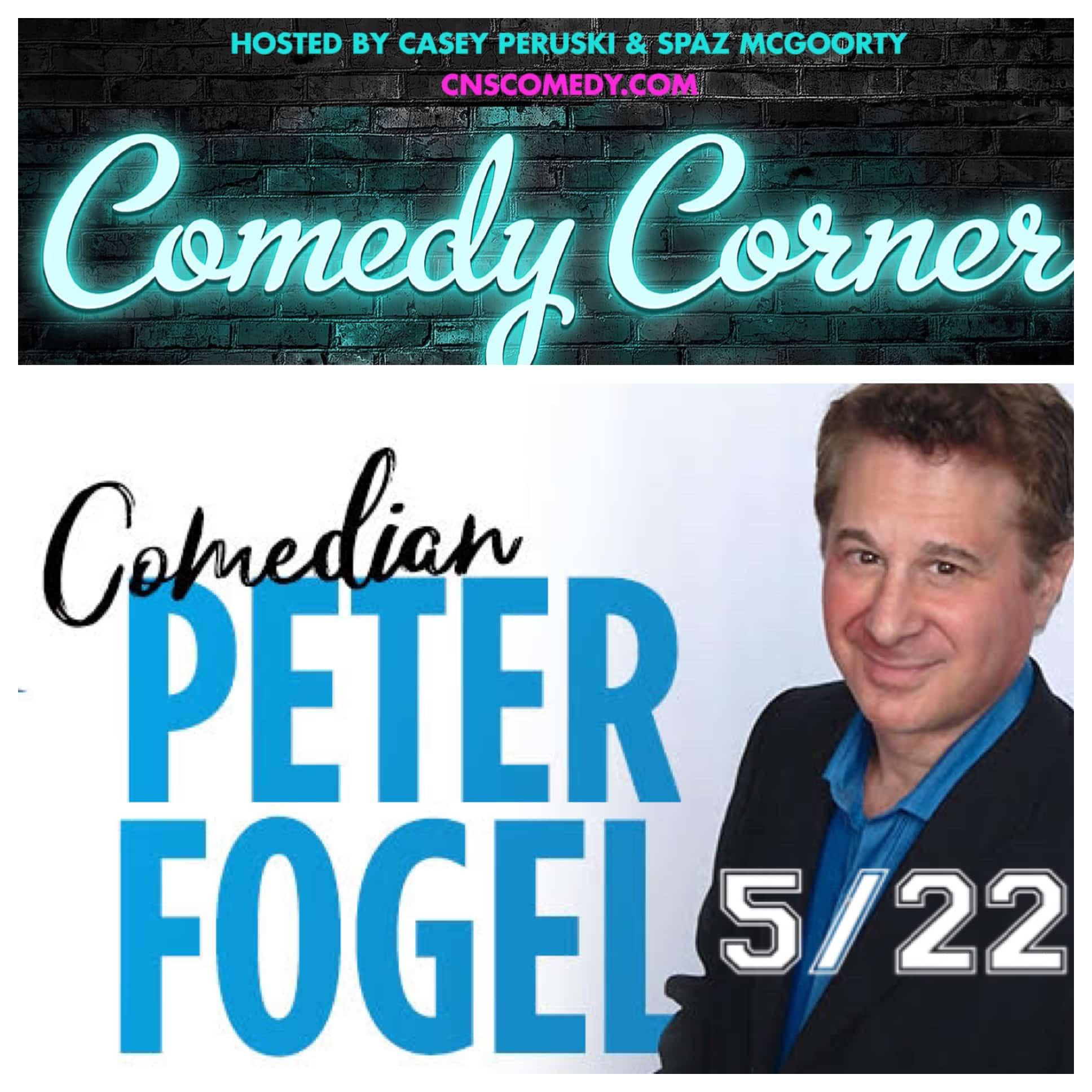 Comedy Corner Presents: Peter Fogel LIVE @ The Black Box
