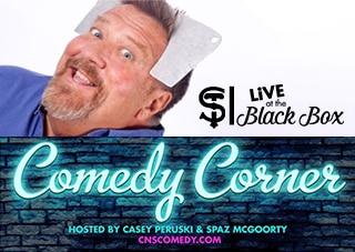 Comedy Corner Presents: John Ferrentino LIVE @ The Black Box