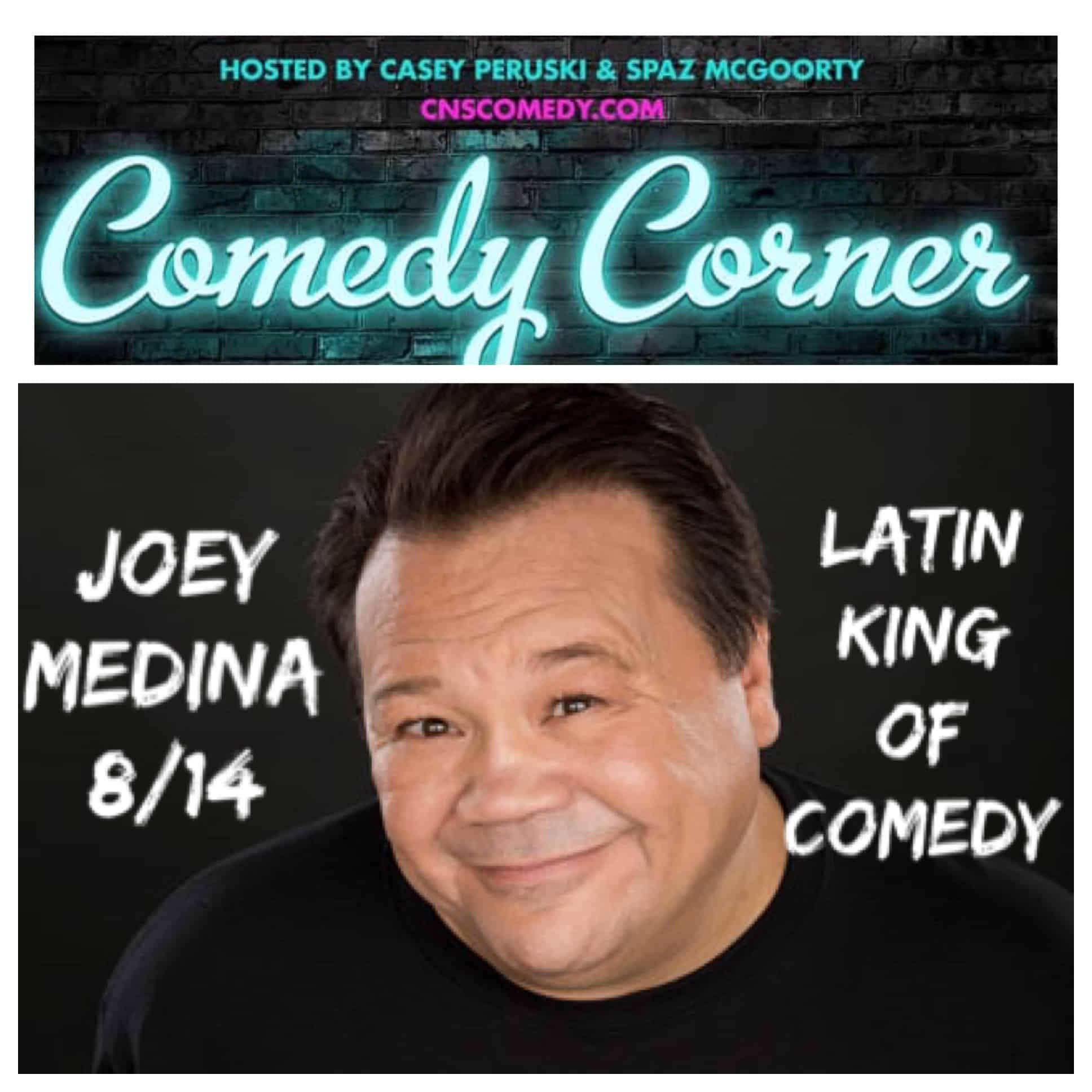 Comedy Corner Presents: Joey Medina LIVE @ The Black Box